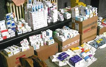 ضبط مالك صيدلية بالهرم لبيعه أدوية التأمين الصحي بالأسواق