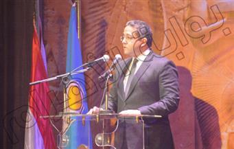 بالصور.. وزراء وسفراء في احتفال عيد الأثريين الـ11 بالأوبرا المصرية