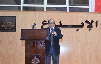 """بالصور.. محمد حسن عبد الله: أتمنى أن يلحق كتابي """"منافذ إلى الماضي المستمر"""" بمعرض الكتاب"""