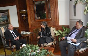 """في لقائه مع ممثلي الـ""""يونسكو"""".. وزير الري يبحث دعم مشروعات الوزارة وزيادة كفاءة العاملين بقطاع المياه"""
