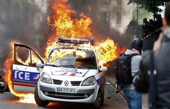 إشعال النار في 650 سيارة بفرنسا عشية الاحتفال بالعام الجديد