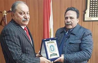 """خلال لقاءه """"المراغي""""..رئيس اتحاد عمال العراق: الشعب مرتاح للتقارب الحكومي مع مصر وسعيد بإلغاء تأشيرة الدخول"""