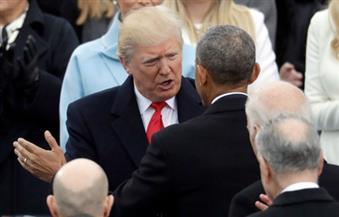 ترامب وأوباما يصلان إلى مبنى الكابيتول لتسليم وتسلم السلطة