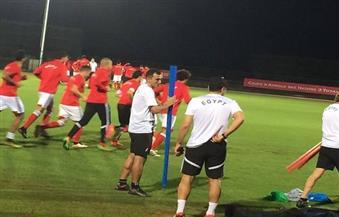 لاعبو الأهلي ينتظمون في تدريبات منتخب مصر بالإسكندرية استعدادًا لمواجهة تونس