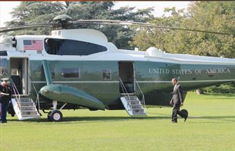 """""""الطائرة"""" تعاند أوباما بعد خروجه من البيت الأبيض..عاصفة رعدية تجبرها على الهبوط فى مكان مجهول"""