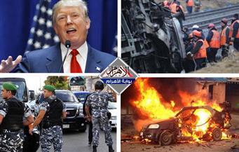 """هجوم بيروت.. قتلي قطار الهند.. حرب علي داعش.. صهر ترامب """"مستشار"""" بنشرة الثالثة"""