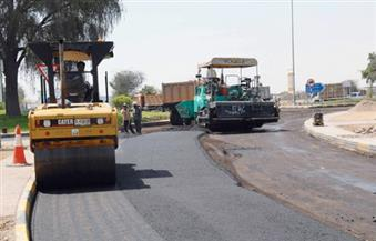 """""""محافظ السويس"""" يتفقد  مشروعات وإنشاء ورصف الطرق الرئيسية بالمحافظة"""
