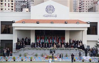 الأمين العام للجامعة العربية يشهد حفل تخرج دفعة الماجستير بمعهد الإنتاجية والجودة بالأكاديمية العربية