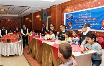 بالصور.. مديرية أمن القاهرة تحتفل بعيد الشرطة مع الأطفال الأيتام بعابدين
