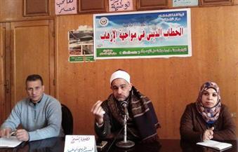 """بالصور.. مدير """"أوقاف زفتى"""": مصر تواجه أعتى حرب فى تاريخ البشرية"""
