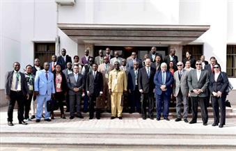 بالصور.. قناة السويس تستقبل وفدًا رفيع المستوى من رؤساء الموانئ الإفريقية