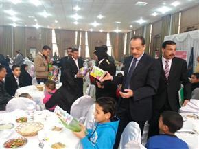 بالصور.. مديرية أمن المنوفية تحتفل بأعياد الشرطة مع أسر الشهداء