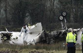 مقتل 10 أشخاص جراء تحطم طائرة في باكستان