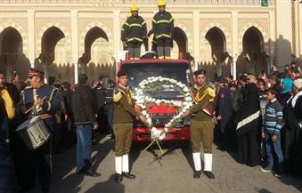 بالصور .. تشييع جثمان وكيل مصلحة الأمن العام في جنازة عسكرية من مسجد السيد البدوى بطنطا