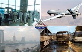 تصريحات السيسي.. طقس الغد.. الأتوبيسات المحروقة.. ضوابط العمالة.. منع سفر عراقيين بنشرة الثالثة