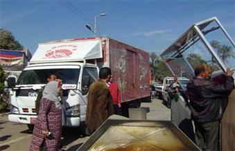 ضبط 130 مخالفة إشغال طريق خلال شهري نوفمبر وديسمبر بمرسى مطروح