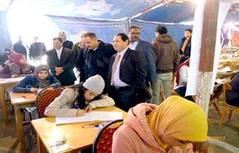 """رئيس جامعة بورسعيد يتفقد لجان امتحان الدور الأول بكليات """"التمريض ورياض الأطفال والعلوم والتربية النوعية"""""""