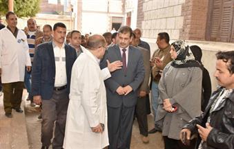 بالصور.. سكرتير محافظة أسيوط يتفقد مستشفى الساحل المركزي