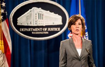 القائمة بأعمال وزير العدل الأمريكي: لن ندافع عن الأمر التنفيذي لترامب بشأن الهجرة