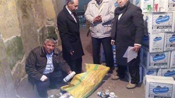 ضبط 8 أطنان مبيدات وأسمدة كيميائية منتهية الصلاحية في أبو حماد بالشرقية