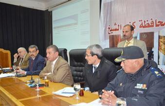 """بالصور.. """"تنفيذي كفر الشيخ"""" يوافق على قبول تبرعات الأهالي بالأراضي لإنشاء مدارس ومحطة صرف"""