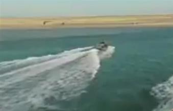 """السيسي يفتتح اللواءين """" لنشات ومدمرات"""" خلال تدشين الأسطول الجنوبي بسفاجا"""