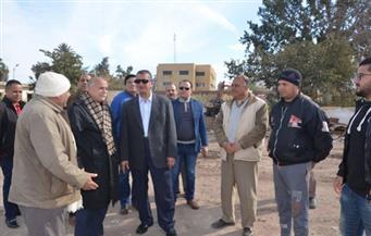 بالصور.. محافظ كفرالشيخ يتابع إزالة وإعادة إنشاء مصنع ألبان سخا
