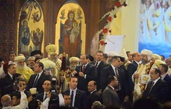 البابا تواضروس يذكر شهداء البطرسية ويشكر السيسي.. ويستعرض تجديدات الكاتدرائية