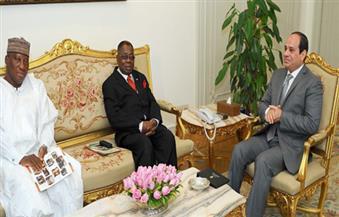 المبعوث الشخصي للرئيس الغاني للسيسي: مصر ركيزة أساسية لتحقيق الاستقرار والتنمية في القارة الإفريقية