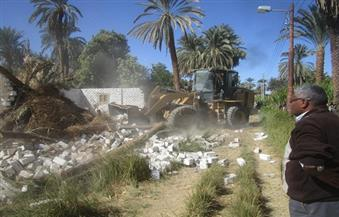 تحرير 17 محضر إزالة تعدٍ على أراضٍ زراعية.. ورفع 685 طن مخلفات بأبنوب في أسيوط
