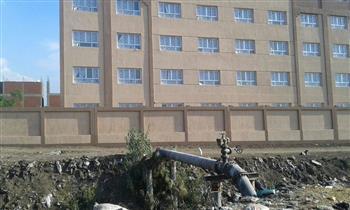 """استغاثة قرية """"كرديدة"""" بالشرقية.. الأهالي يطالبون بإنهاء مشروع الصرف الصحي وسرعة تغطية المصرف"""