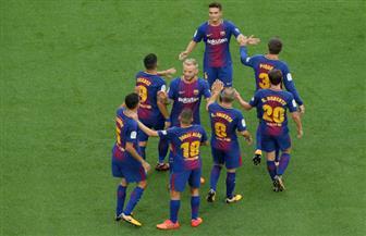 برشلونة يعزز صدارته للدوري الإسباني بتغلبه على ملقة بثنائية نظيفة