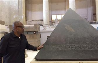 فورست ويتكر يشارك لحظات السعادة مع جمهوره من داخل المتحف المصري | صور