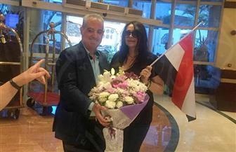 النجمة الفرنسية بياتريس دال في جولة سياحية بالإسكندرية |صور