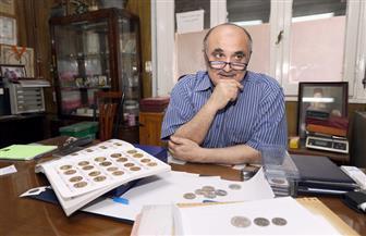 في ذكرى العبور الـ ٤٤.. عملات ذهبية وفضية تؤرخ لذكرى نصر أكتوبر  صور