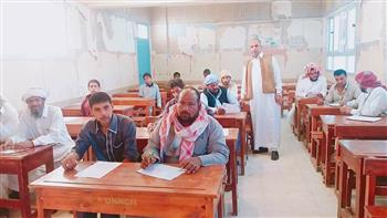 29 طالبًا يؤدون امتحانات محو الأمية بمطروح.. وتسليم 14 شهادة للناجحين في السلوم