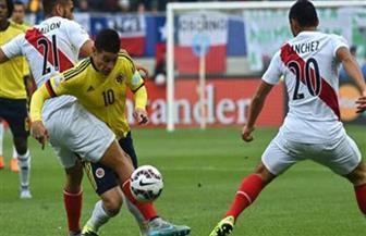 بيرو تتعادل مع كولومبيا وتدخل الملحق الفاصل للمونديال