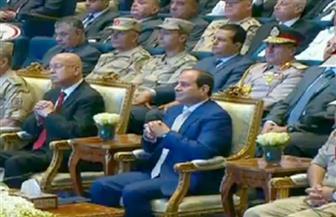 الرئيس السيسي يكلف محلب بمتابعة تنفيذ ملاحظات اللواء عابدين حول مرافق العاصمة الإدارية