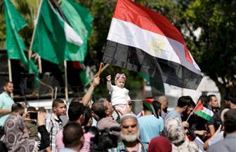 الأعلام المصرية تزين سماء غزة ابتهاجًا بإتمام اتفاق المصالحة الفلسطينية بالقاهرة اليوم | صور