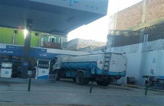 ضبط قائد سيارة نقل محملة بـ20 ألف طن سولار قبل بيعها بالسوق السوداء بالمنيا