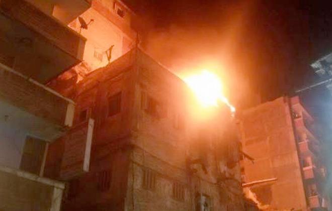 لبنان مقتل  أشخاص في انفجار معمل بالضاحية الجنوبية لبيروت