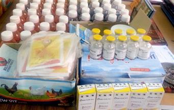 ضبط أدوية بيطرية محظورة في كفر الشيخ