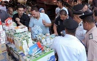 أطنان مواد غذائية ومواد بترولية ومنشطات جنسية بحملات تموينية بالجمهورية