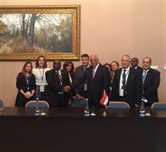 """عبدالعال يلتقي رؤساء برلمان الكويت والعراق والسعودية على هامش فعاليات """"البرلماني الدولي"""""""