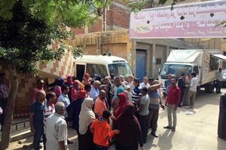 تنظيم قافلة سكانية خدمية بعزبة خورشيد بالإسكندرية   صور