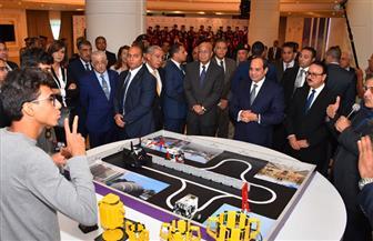 تفاصيل مشاركة الرئيس السيسي في حفل خريجي المبادرة الرئاسية رواد تكنولوجيا المستقبل | صور