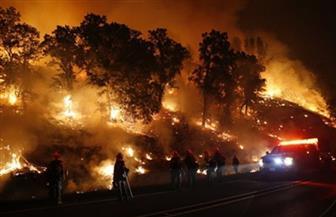 تواصل حرائق كاليفورنيا وفرار عشرات الآلاف