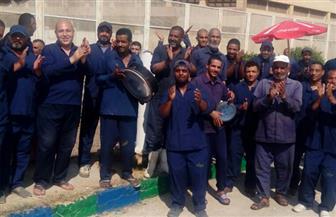 """تفاصيل زيارة وفد حقوق الإنسان بـ""""النواب"""" لسجن برج العرب.. وسجناء: نتلقى كافة أوجه الرعاية الصحية والإنسانية"""