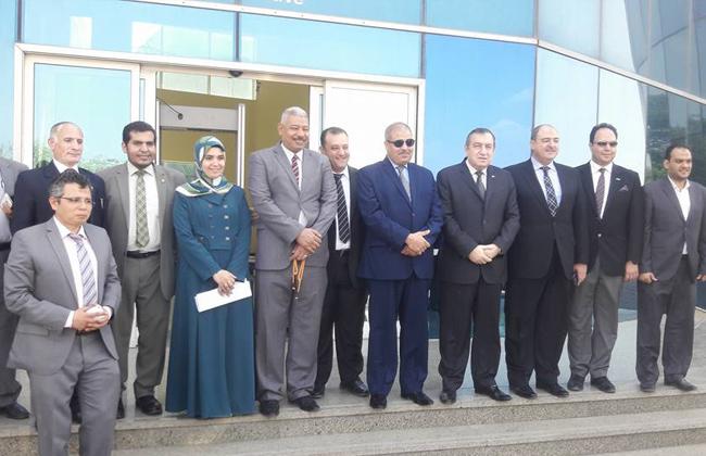 رئيس جامعة الأزهر يستقبل  شرف  لبحث التعاون في مجال التنمية المستدامة   صور -
