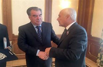خلال لقائه برئيس طاجيكستان.. أبو الغيط يؤكد أهمية الارتقاء بالعلاقات العربية مع دول آسيا الوسطى